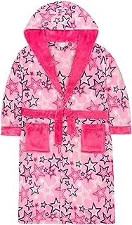 Fleece Style It Up M/ädchen Kinder Bademantel mit Kapuze weich und gem/ütlich Gr 9-10 Jahre Pl/üsch Pink Unicorn Magical Star Kapuzenpullover Einhorn