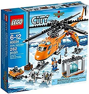 LEGO City - Helicóptero con grúa ártico, Juego