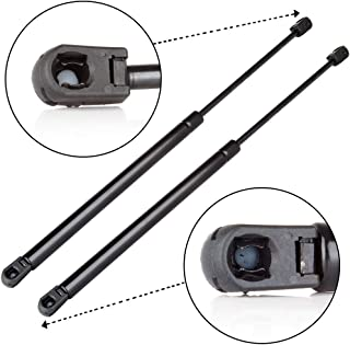 ECCPP Tonneau Cover Top Truck Cap Gas Springs Lift Supports Shocks Compatible with C1608055 Strut Set of 2