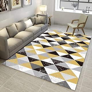 Geometric Living Room Area Rugs 3D Rug Rectangular Carpets Children Bedroom Mats Outdoor Indoor Home Decor Runners 3' X 5'