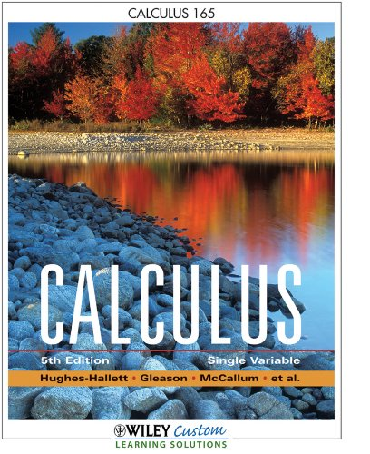 Calculus Single Variable 5th edition