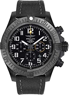 Breitling Avenger Hurricane 50mm Men's Watch on Anthracite Canvas Strap XB0170E4/BF29-100W