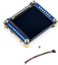 waveshare 1.5inch RGB OLED Display Module, 128x128 Pixels Displaying 65K Colors, Support Raspberry Pi Arduino STM32, SPI Interface