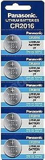 Panasonic CR2016 3V Lithium Battery 1PACK X (5PCS) =5 Single Use Batteries