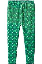 Irish Flag Shamrock Unisex Baby Pants Classic Baby Boy Elastic Trousers