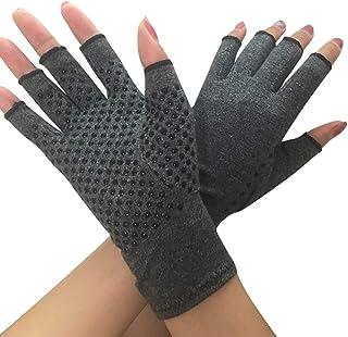Donnagelia Anti-Arthritis Handschuhe Kompressionshandschuhe Fingerfrei für..