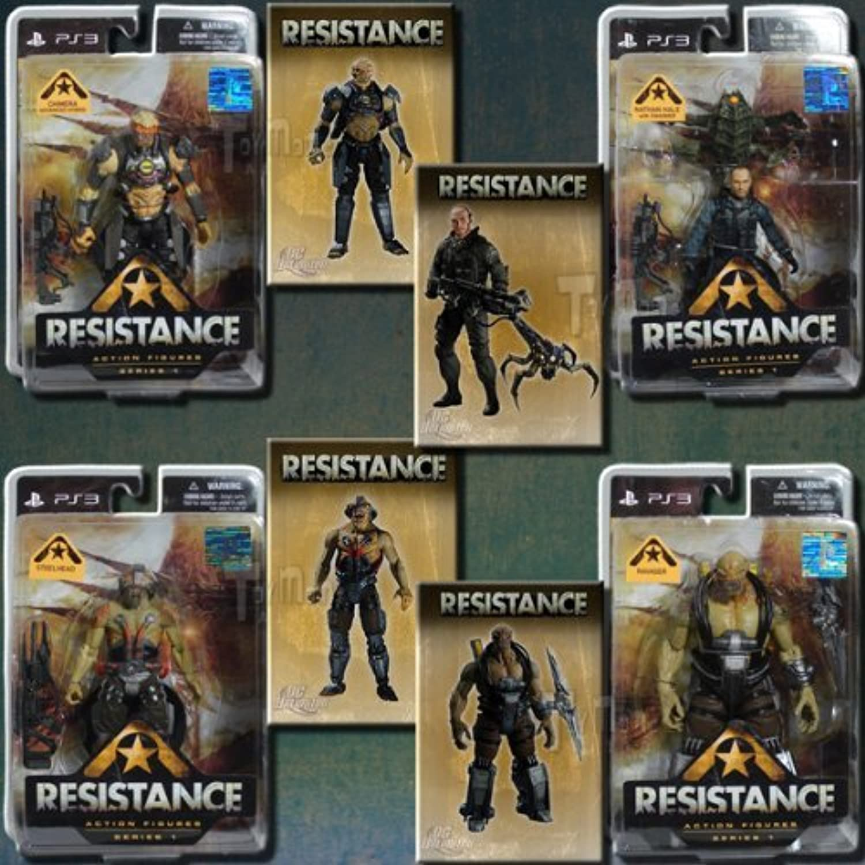 Disfruta de un 50% de descuento. DC Direct RESISTANCE Acción Figura set set set of 4 by Resistance  Web oficial