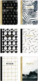 Notizhefte - All about black & white - DIN A5: 6 x 2 Ex. im Sortiment