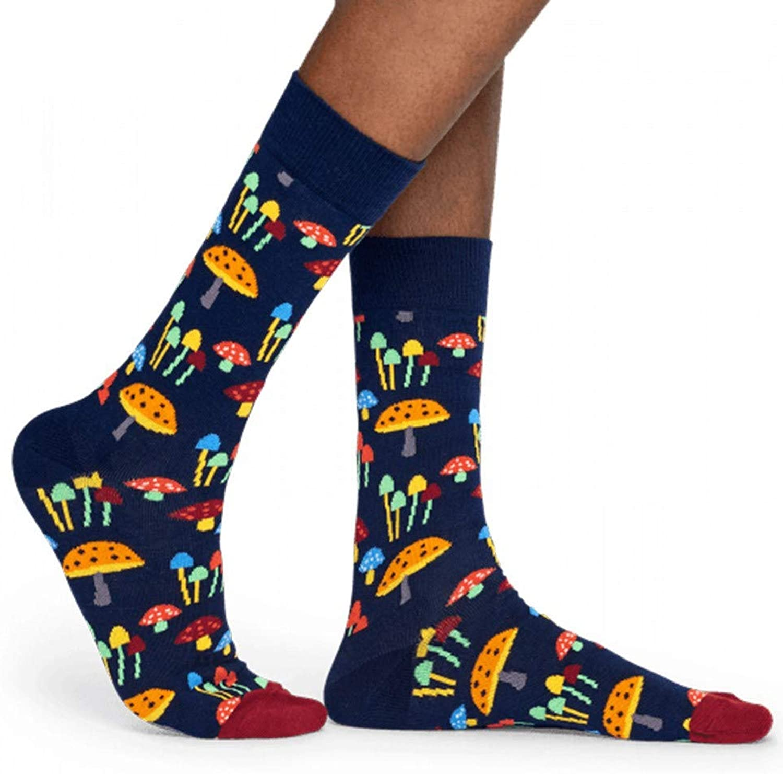 Hyf Socks Socks 3 Pairs Of Men'S Tube Print Socks