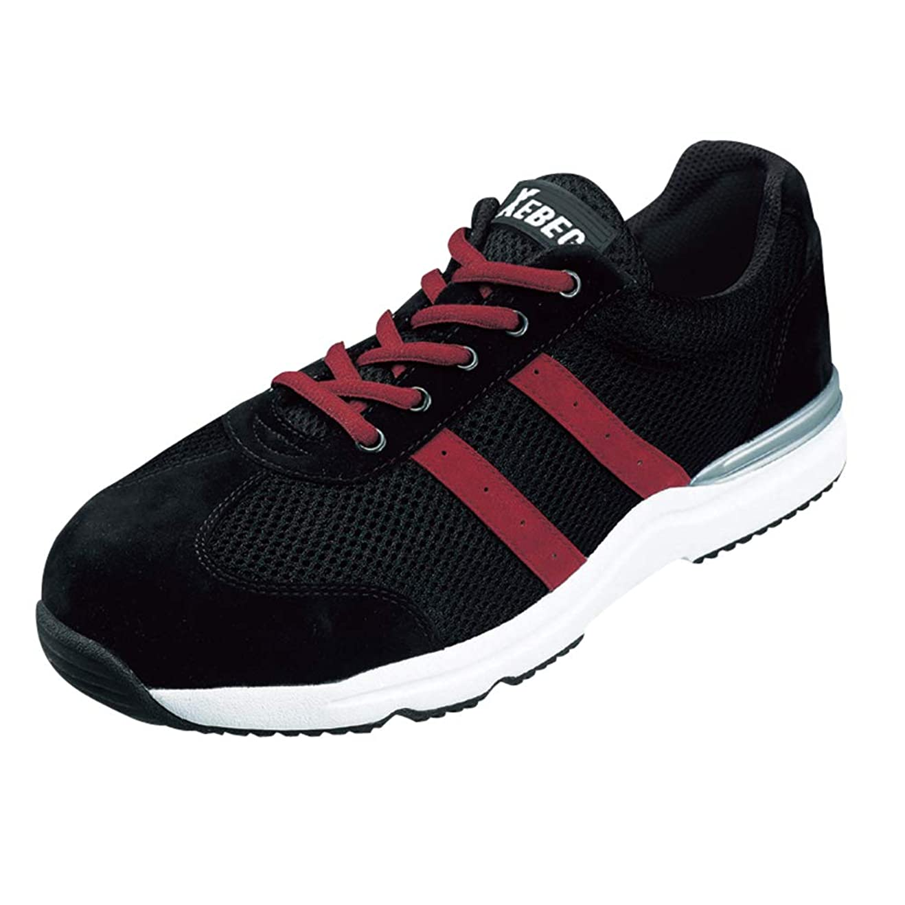 伝導率硫黄ナプキン[ジーベック] 安全靴 セフティシューズ 85110 90(ブラック) 22,0