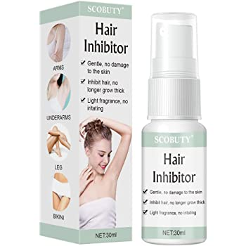 Amazon Com Hair Removal Spray Hair Inhibitor Semi Permanent