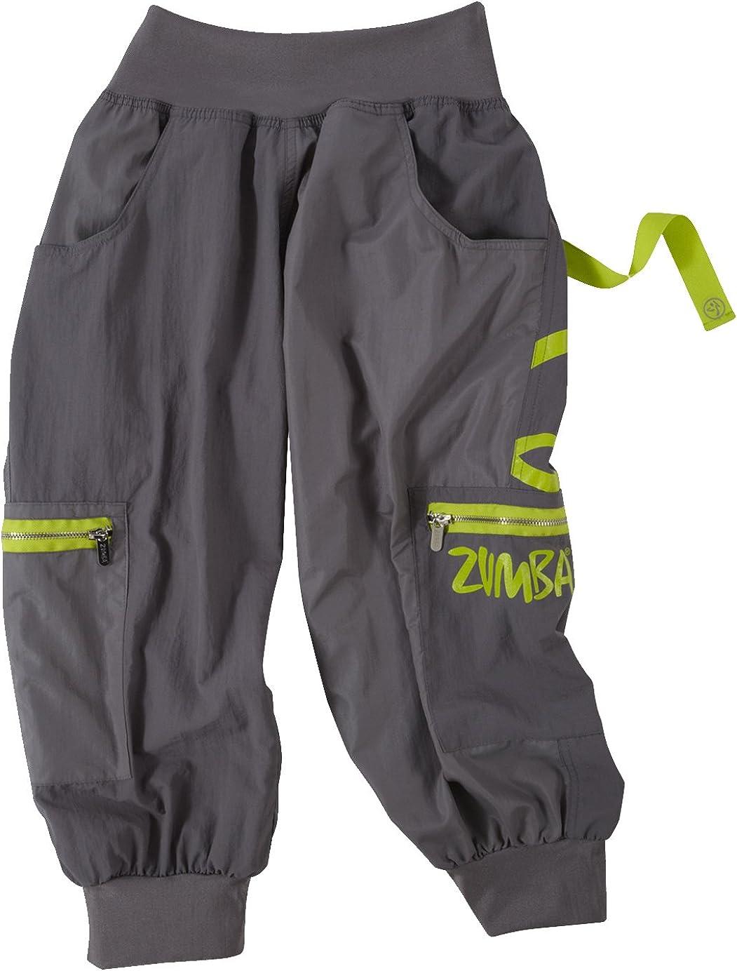Zumba Women's Wonder OFFicial mail 55% OFF order Cargo Capri Pants