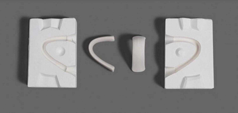 WellieSTR 1 Max 58% OFF Set Mini 3D Plaster Cup Handle Pot Tea Molds Online limited product Ceramic