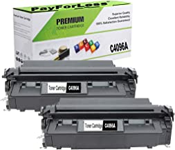 PayForLess Compatible 96A C4096A Toner Cartridge Black 2PK Replacement for HP Laserjet 2000 2100 2100M 2200D 2200DN