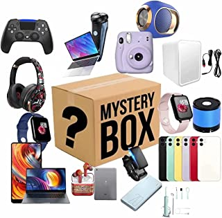 Lucky Box Mystery Boxes Mystery Box, (Electronic Equipment) Can be Opened: the Latest Mobile Phones, Drone, Smart Watches,...