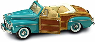 Road Signature 1946 Ford Sportsman Convertible and Removable Bonnet, Green 20048 - 1/18 Scale Diecast Model Toy Car