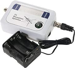 Toolso Digital Satellite Finder Satellite Signal Finder Satellite Signal Meter TV Antenna Satellite Signal Finder Meter with Compass