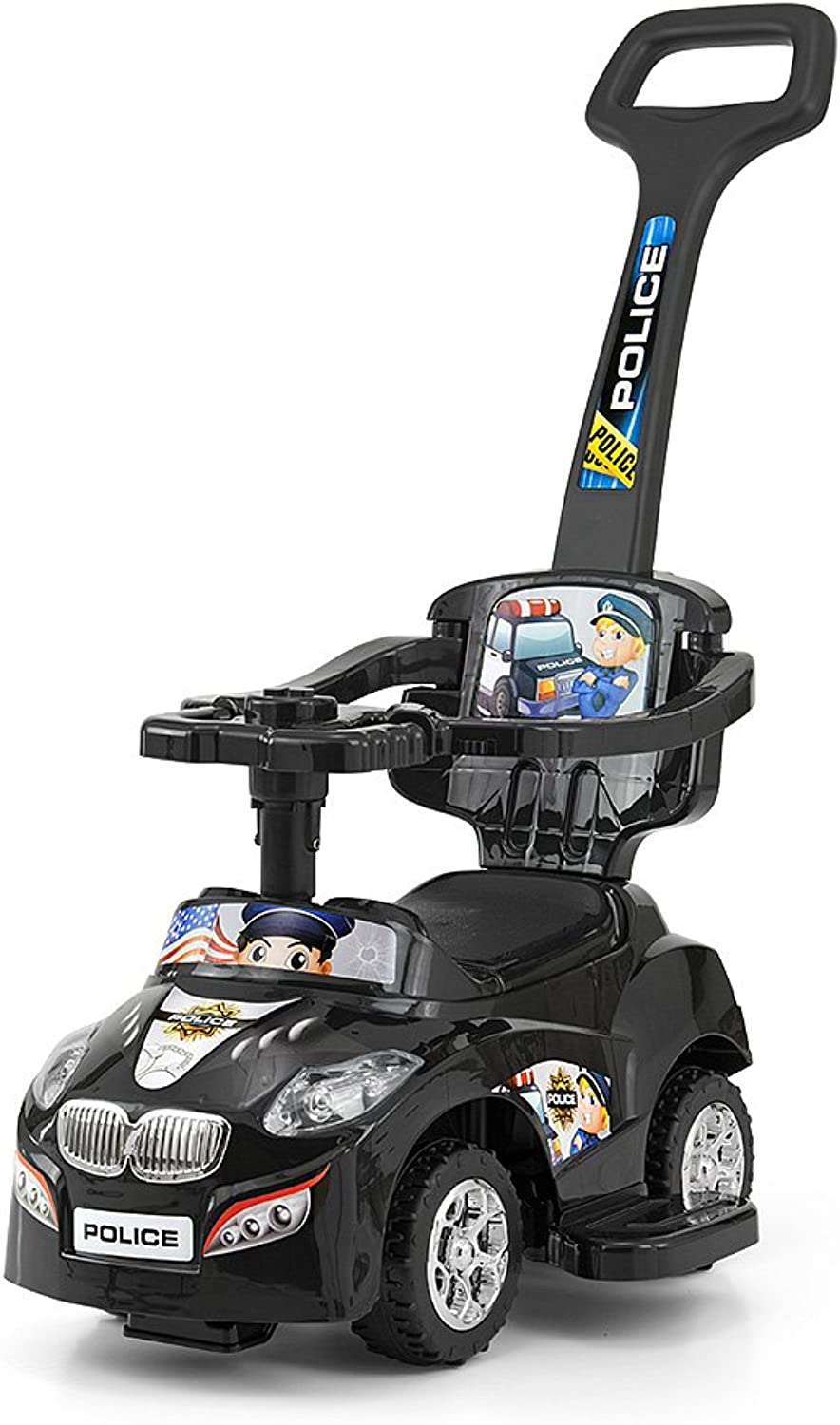 MILLY MALLY 22381 Happy RideOn, Black