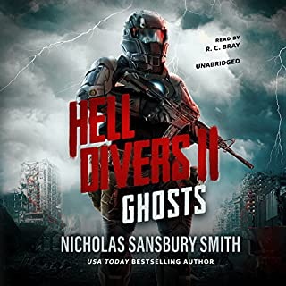 Hell Divers II: Ghosts     The Hell Divers Series, Book 2              Auteur(s):                                                                                                                                 Nicholas Sansbury Smith                               Narrateur(s):                                                                                                                                 R. C. Bray                      Durée: 8 h et 13 min     90 évaluations     Au global 4,6