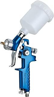 PNTGREEN H2001 Mini HVLP Gravity Feed Touch Up Air Spray Gun with 0.8mm Nozzle 125CC (Free Spray Gun Keychain)