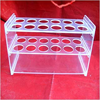 /Ø 16.5mm 24-Loch S-Rack Various Sizes 24/Hole Test Tube Holder Acrylic Clear Glass /& # X2713/Decoration /& # X2713