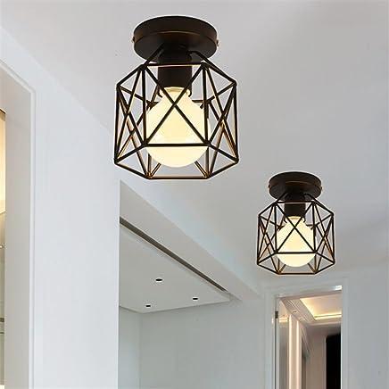 Amazon.es: lamparas de techo negra - Iluminación para el ...