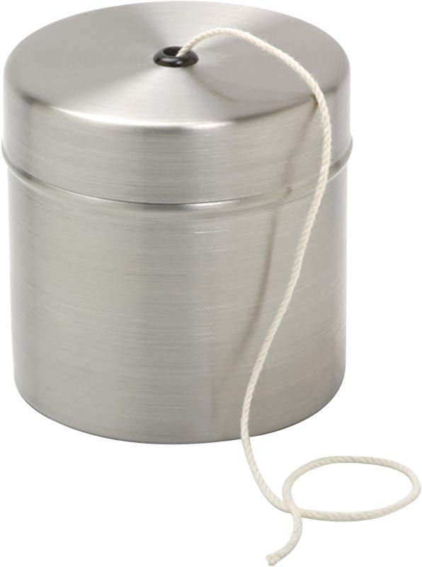 Norpro Stainless Steel Holder With Cotton Cooking Twine 220 Feet