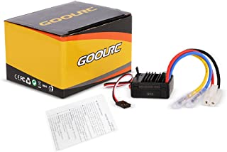 GoolRC 60A Brushed ESC Electric Speed Controller with 5V/2A BEC for 1/10 RC Car