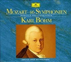 Mozart: 46 Symphonies - Berlin Philharmonic / Karl Böhm