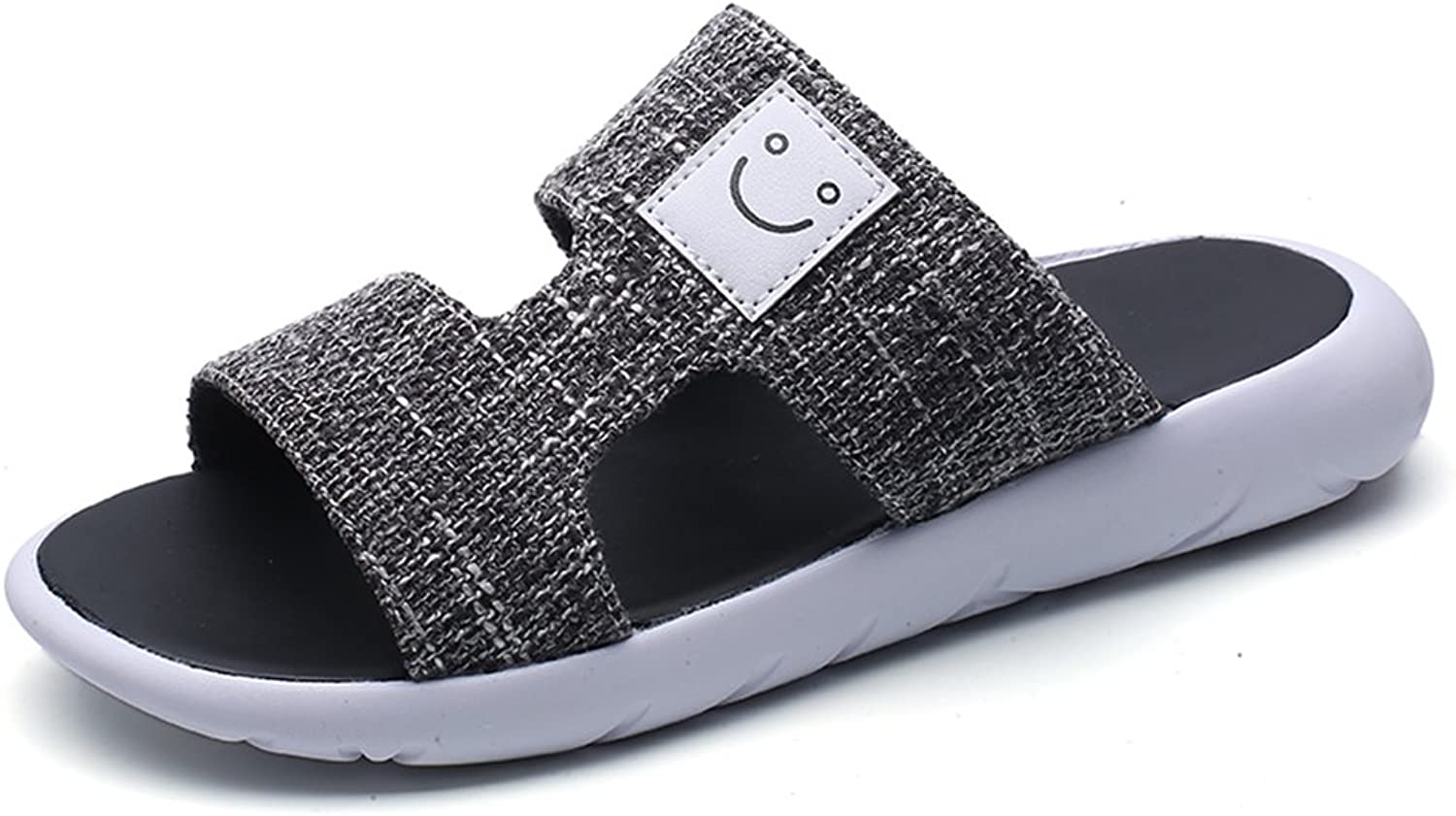DYFYMX Fashion Casual Beach shoes, Flat Slippers, Male Adult Sandals. Fashion 1, Size   EU39 UK6 CN39