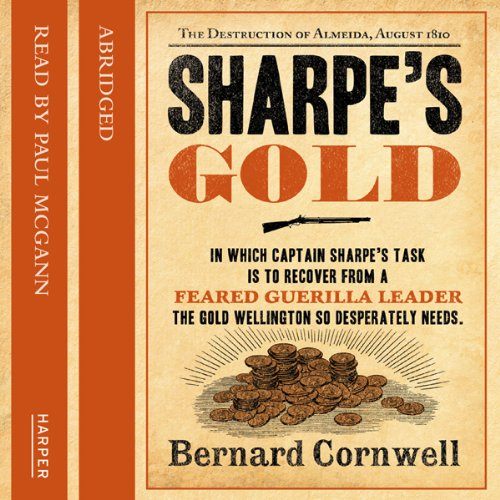 Sharpe's Gold audiobook cover art