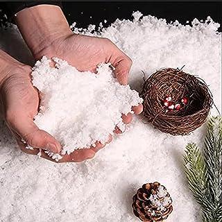 Instant Sneeuw Simulatie Voor Winter Thema Feestdecoraties Kunstmatige Instant Sneeuw Poeder Geschikt Voor Thuis, Kantoor,...