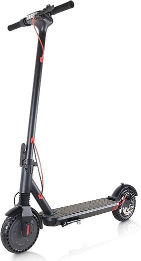 Mangoo Monopattino Elettrico Pieghevole Adulti, velocità Massima 20 km/h, Autonomia 20 km, Motore 250W, Grande Schermo LCD, 8,5 Pneumatici, 3 modalità di velocità, modalità Crociera