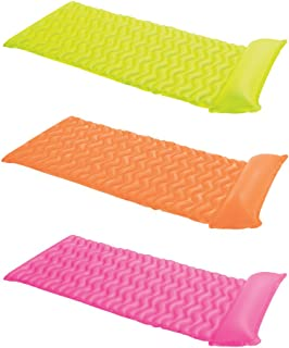 Intex Tote-N-Float Wave Inflatable Air Mat, 90-Inch X 34-Inch,