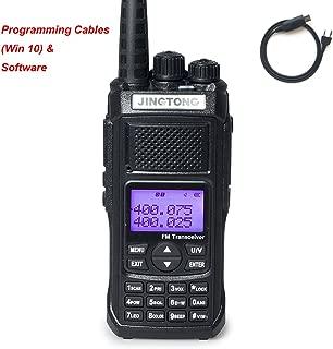 Jingtong JT-5988HP 12-Watt Tri-Power 10/5/3W Dual Band Two Way Radio 4800 mAh Battery 128-Channel Portable Handheld Transceiver