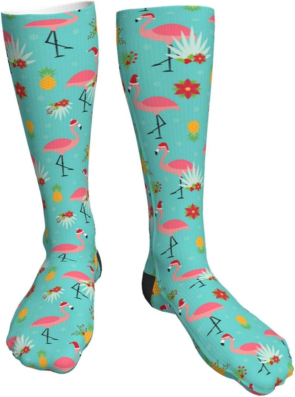 Bulldog'S Christmas Detroit Mall Hat Max 85% OFF Novelty Crazy High Socks Knee Crew Tube