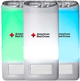 American Red Cross Blackout Buddy Connect Color Nightlight & Emergency LED Light, Compatible with Both Amazon Alexa & Google Home