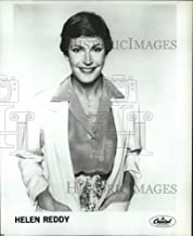 Historic Images - Press Photo Capitol Records Recording Artist Helen Reddy