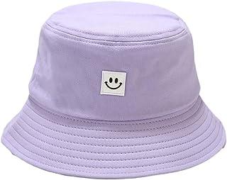 Verano Sombrero de Cubo Pescador Plegable Sombreros Sonriente Impresión Sonrisa Cara Sombrero de Sol de Playa Sombrero del...