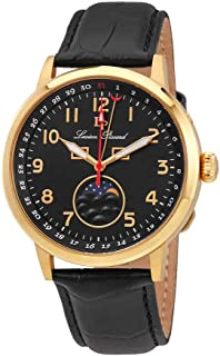 Lucien Piccard Complete Calendar Black Dial Men's Watch 40016-YG-01