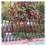 JIANFEI-Valla de jardín Valla De Madera Decoracion Jardin Planta De Barandilla Cerca De Bambú Impermeable Resistente A La Corrosión, 4 Tallas (Size : 150x180cm)