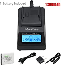 Kastar Ultra Fast Charger Kit and Battery (1-Pack) for Olympus LI-90B, LI-92B, UC-90 and Olympus SH-1, SH-50 iHS, SH-60, SP-100, SP-100EE, Tough TG-1 iHS, Tough TG-2 iHS, Tough TG-3, XZ-2 his Cameras