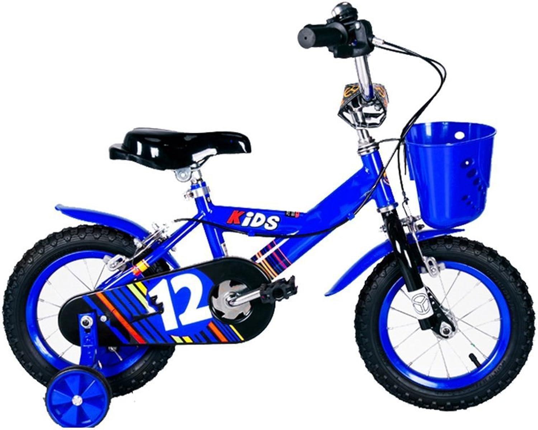 venderse como panqueques Bicyclehx Antirust Safety Sturdy Alloy Bicycle para Niños Niños Niños Bicicletas para Niños con estabilizadores en Tamaño 12  14  16  18 , Rojo, Azul, Amarillo  mas preferencial