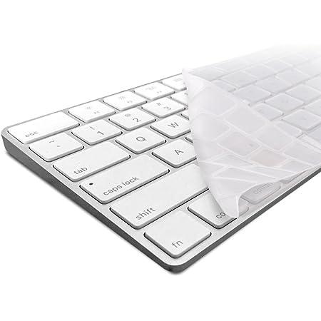 kwmobile Robusto, Protector Delgado Compatible con Teclado QWERTY (US) de Silicona para Apple Magic Keyboard