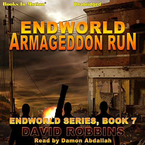 Armageddon Run audiobook cover art