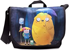 Adventure Time Finn and Jake Totoro Messenger Bag