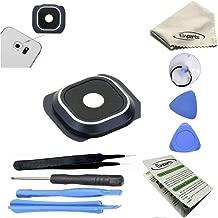 Ewparts for Samsung Galaxy S6 G920a ,G920f,g920p,g920t,g920v Camera Lens Cover Repair Part with Repair Tools Kit Color Blue
