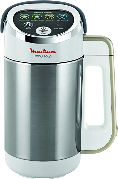 Frullatore riscaldante 5 programmi automatici a doppia parete capacità 1 2 l moulinex easy soup LM841B10