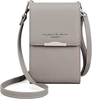 Small Crossbody Bags Small Crossbody Purses Lightweight Roomy Leather Cell Phone Purse Wallet for Women