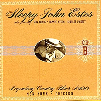 Legendary Country Blues Artists - CD B